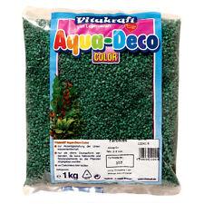 Vitakraft Gravier - 1 kg - minz vert - aménagement pour aquarium conique