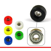 4 Pcs/Set Professional Urethane  Bearing Wheels for Wooden Fingerboard