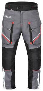 Motorradhose Motorrad Textilhose Bikerhose wasserdicht atmungsaktiv Gr S - 6XL