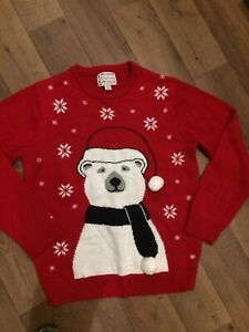 mens christmas jumper large From Cedar Wood State