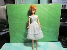 vintage stawberry blonde bubblecut barbie doll (tm body)