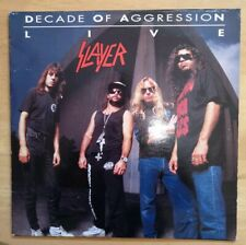 Slayer Decade of Aggression 2 LP Vinyl mit Booklet