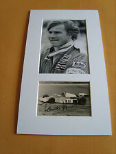 James Hunt Genuine signed authentic autograph UACC / AFTAL