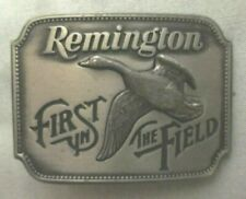 the Field Belt Buckle-Made in Usa Remington Arms Co.Canada Goose Hunter First in