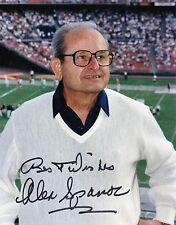 San Diego Chargers Owner ALEX SPANOS autographed signed auto 8x10 very rare