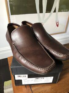 Hugo Boss Shoe UK 12 Roddick Brown