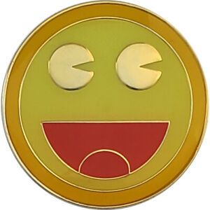 Found It! Geocoin, Polished Gold Finish (Limited Edition), Unactivated