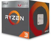 NEW! Amd Ryzen 3 2200G 3.7GHz 65W Quad Core AM4 CPU with Radeon Graphics