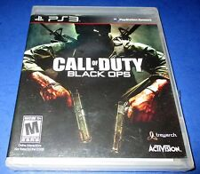 Call of Duty: Black Ops Sony PlayStation 3 *Factory Sealed! *Free Shipping!