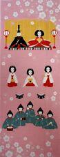 Japanisches Handtuch - Tenugui Hinamatsuri - Mädchenfes 90×35cm Aus Kyoto ,Japan
