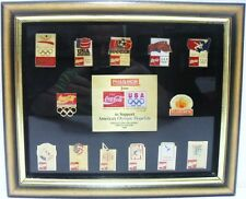 Coca-Cola - 1992 COLLECTORS' PINS LIMITED EDITION - AMERICA'S OLYMPIC HOPEFULS