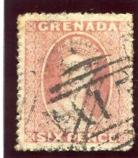 Grenada 1861 QV 6d rose very fine used. SG 3. Sc 2.