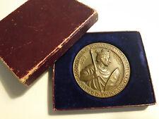 Bronze Medaille Münze Quedlinburg 922 -1922