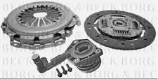 HKT1180 BORG & BECK CLUTCH 3in1 CSC KIT fits Volvo S40/Ford Focus 1.6i -06