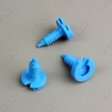 10x Clips de montaje CARENADO puerta en Azul Para Land Rover