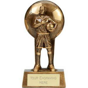 SOUL FOOTBALL TROPHY PERSONALISED PLAYER/MATCH AWARD *FREE ENGRAVING*