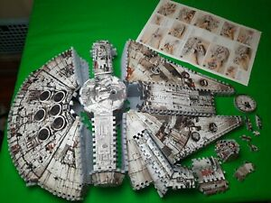 Star Wars Millennium Falcon 3D Puzzle Set Complete with Instructions