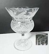 Edinburgh Crystal THISTLE Etched Champagne/Tall Sherbet Glass(s)