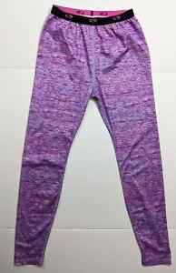 Champion Womens SIze XL Pink Purple Geometric Stripes Workout Athletic leggings