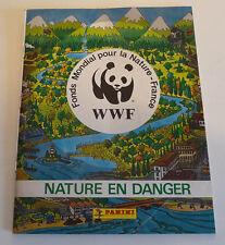 Album PANINI    WWF  NATURE EN DANGER       COMPLET A 50%  jan18