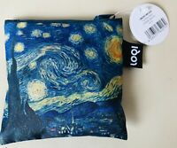 New NWT LOQI Art Museum TOTE Shopper BAG VINCENT VAN GOGH Painting Starry Night