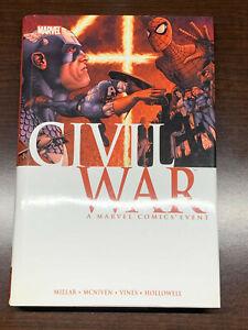 Marvel Civil War Oversized HC - 1st Print 2008 Millar McNiven Avengers