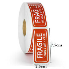 1 Roll 150pcs 1 X 3 Fragile Handle With Care Stickers Labels