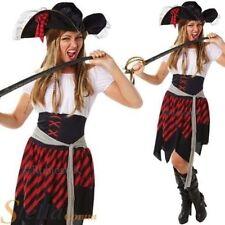 Disfraces de mujer piratas Rubie's de poliéster