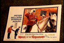 WALTZ OF THE TOREADORS 1962 LOBBY CARD #4 PETER SELLERS