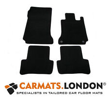 Mercedes C-Class W204 2007 - 2012 Tailored Car Floor Mats Automatic Models Black