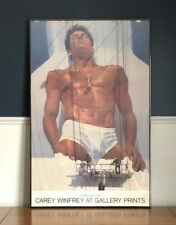 CALVIN KLEIN Underwear Brief Encounter Bruce Weber Vintage Poster