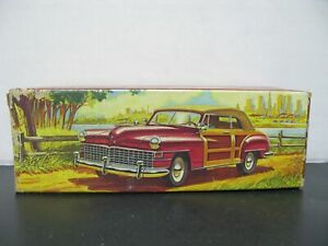 Avon 48 Chrysler Town and Country Decanter - Wild Country After Shave
