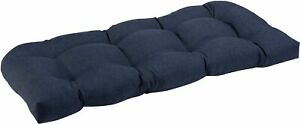 Brentwood Solid Wicker Loveseat Cushion
