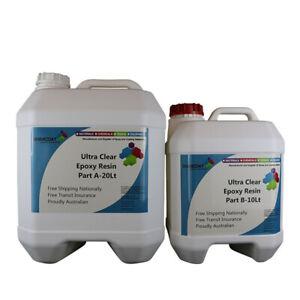 Ultra Clear Epoxy Resin ART&Floor High Gloss Coating-Casting 2Pk Resin/Hardener
