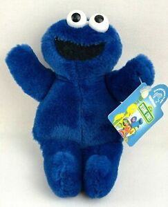 """Sesame Street Applause Cookie Monster 6"""" Small Plush with Tag 1993 Jim Henson"""