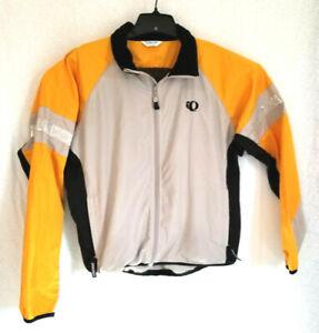 PEARL IZUMI Bicycle Cycling Jacket Mens L Road/Mountain Bike Reflector Jacket