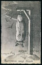art Molynk Russia Anatoly Stessel Political humor caricature old c1907 postcard