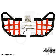 Predator 500 Polaris   Nerf Bars   Alba Racing   Black bar Red nets    208 T1 BR