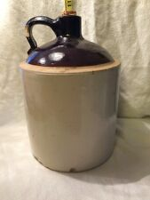 Vintage Whiskey Moonshine Jug With Cork Ceramic Good Condition No Markings