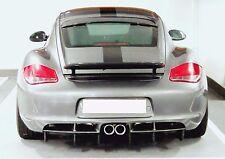 Carbon Fiber STROSEK Style Roof Spoiler Wing for Porsche Cayman 987 2006-2012