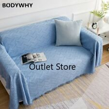 Knitted Sofa Blanket Tassel  Thread Throw Blankets Towel Bedspread Wall Tapestry