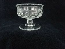 10 KINGS CROWN IMPERIAL THUMBPRINT PATTERN - LOW CHAMPAGNE COUPES / SHERBERTS