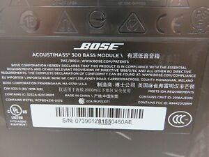 Bose Acoustimass 300 Bass Module Wireless Subwoofer (TT46)