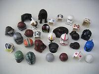 Lego Star Wars Casques coiffes figurine Minifig Hair Headgear to choose NEUF NEW
