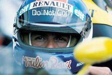 Patrick Tambay Renault RE50 Austrian Grand Prix 1984 Photograph