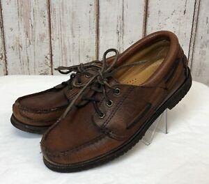 Mens Chippewa Leather Oxford Shoe Vibram Sole Made USA Size 7