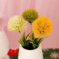 2Pcs 26cm Artificial Dandelion Flower Fake Grass Ball Wedding Party Home Decor