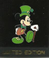 Disney pin St. Patrick's Day Mickey - 2001 DL - LE 2000