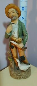 homco figurines old man with goose