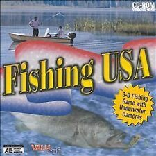 3-d Fishing Game with Underwater Cameras